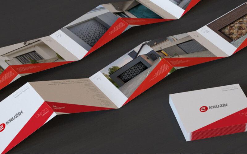 Grafický návrh letáku UNICO
