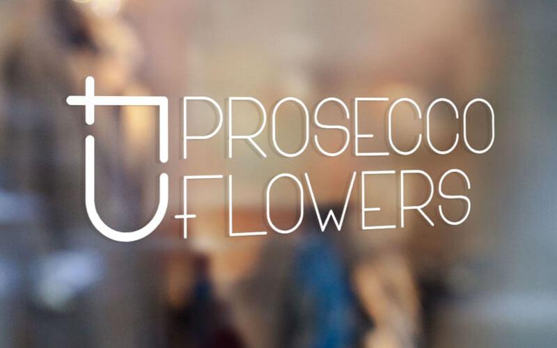 Tvorba loga PROSECCO&FLOWERS