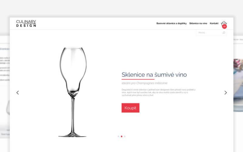 tvorba e-shopu CULINARY DESIGN