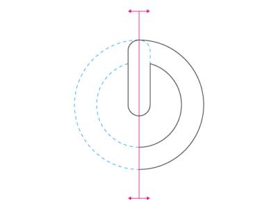 převod loga do křivek - symetrie