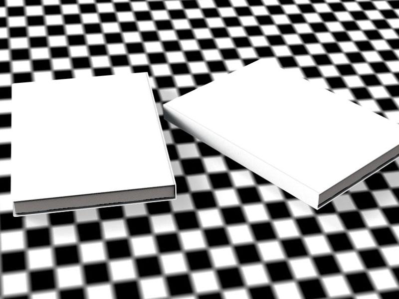 pozadí s texturou šachovnice