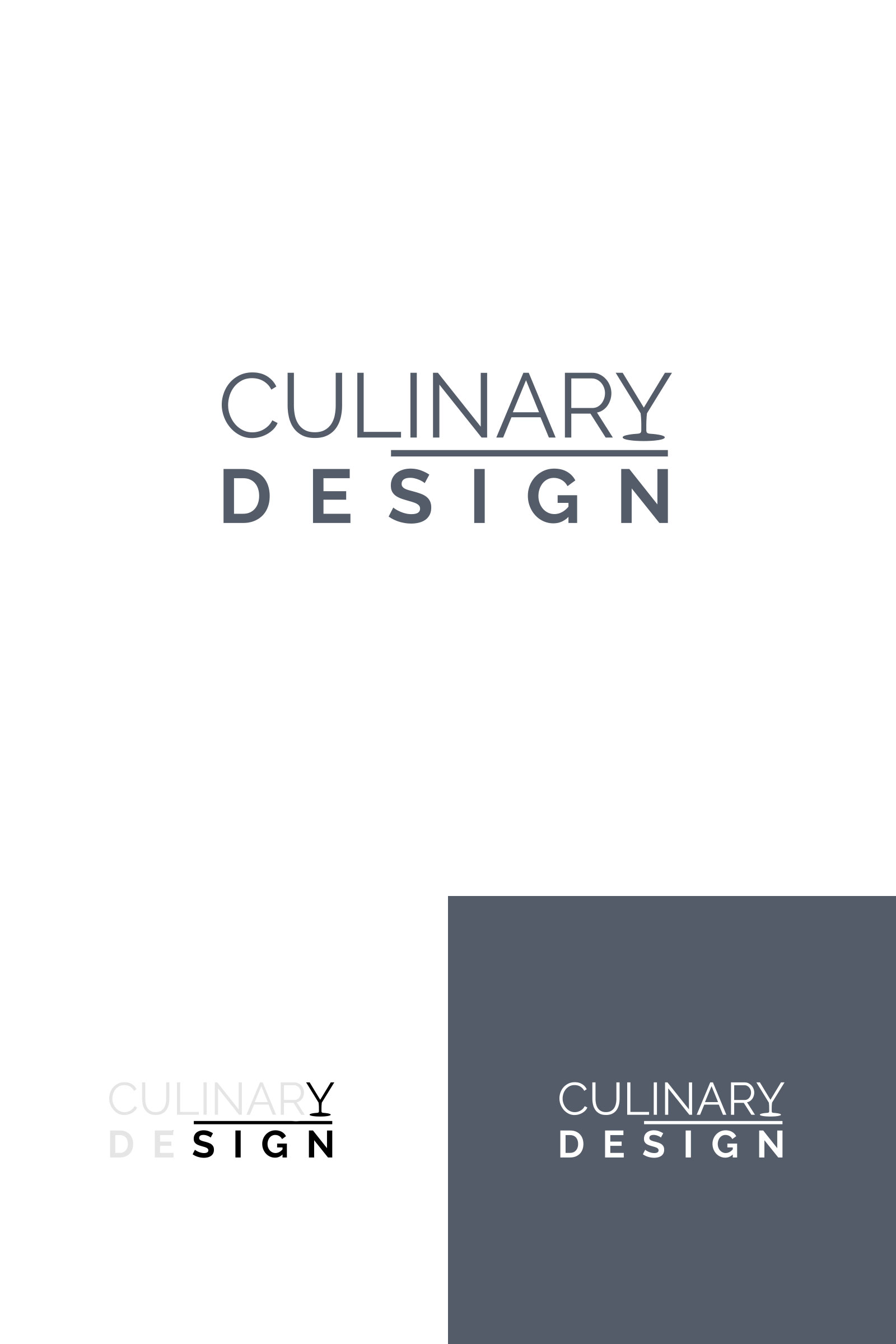 logotyp culinary design